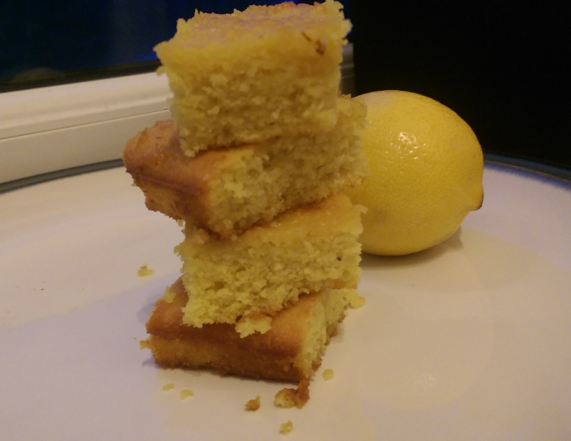 Recipe: Lemon Shizzle Cake