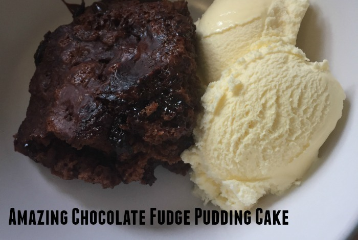 Divine Chocolate Fudge Cake Pudding….
