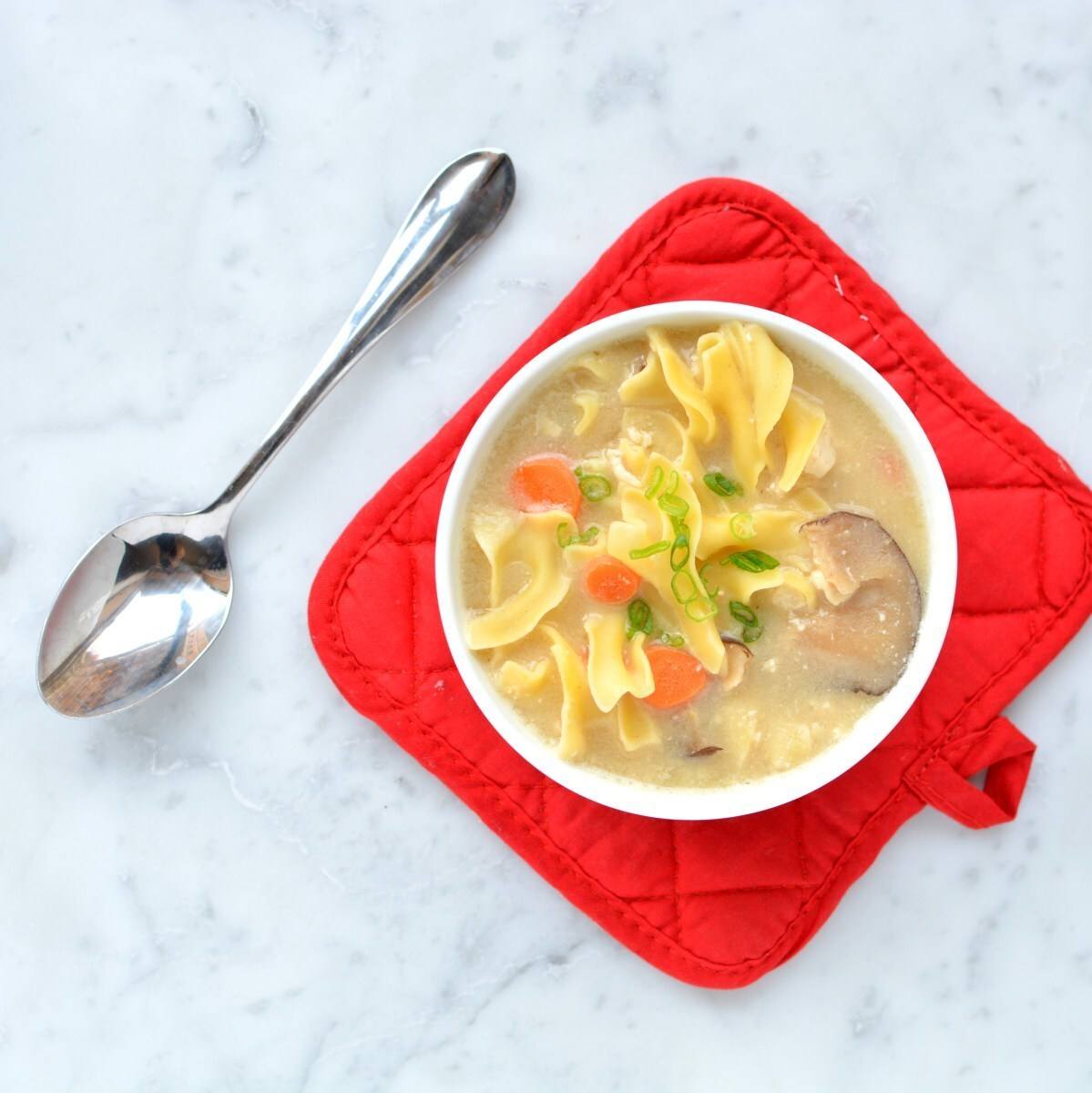 Chicken Noodle Miso Soup