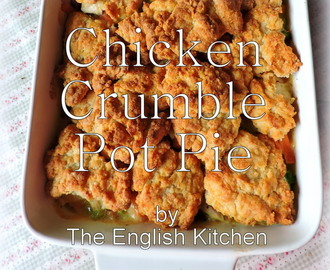Chicken Crumble Pot Pie