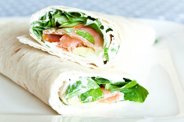 Recept: Wraps met zalm en avocado