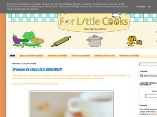 For Little Cooks