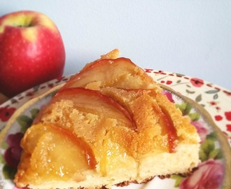 Gluten Free Caramel Apple Upside Down Cake