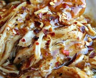 Sweet Garlic Chicken in Crock Pot