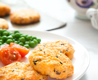 Cooking with kids: Salmon fish cakes