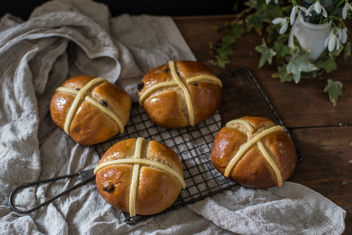 Dairy Free Hot Cross Buns