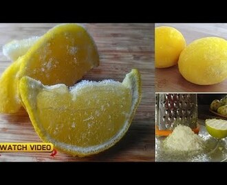 Freezing Lemons At Just the Right Time Could Increase Their Cancer Fight...