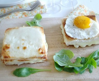 Croque Madame e Croque Monsieur...