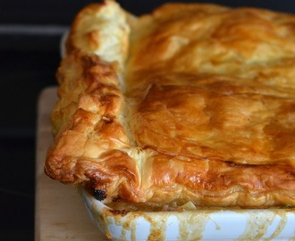 Apple, Pork & Leek Pie