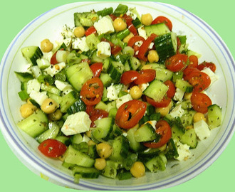 Middle Eastern Vegetable Salad - Ina Fridays - Ina Garten