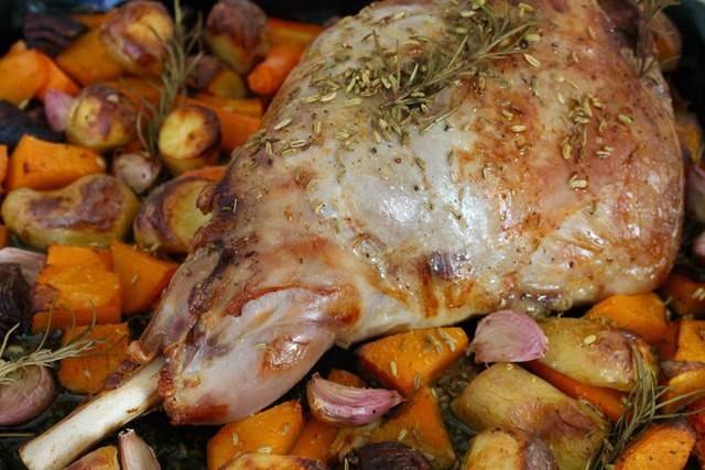New Zealand Lamb Roast For Easter 2016