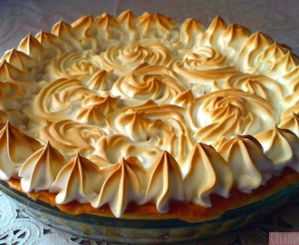 Tarta de limón con merengue o Lemon pie