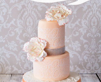 Pfingstrosen Wedding cake