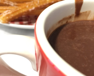 Chocolate a la taza (Thermomix)