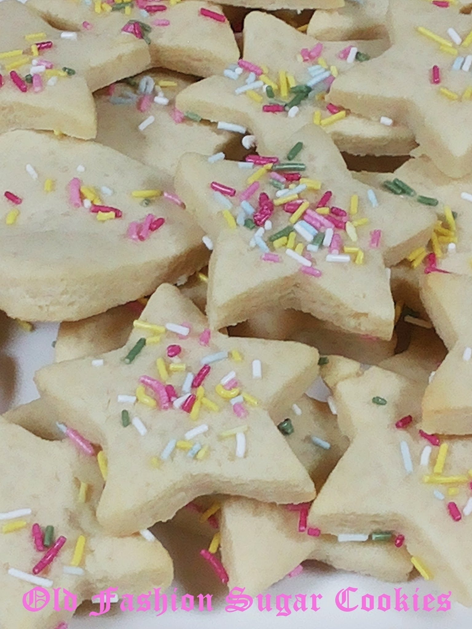 Old Fashioned Sugar Cookies