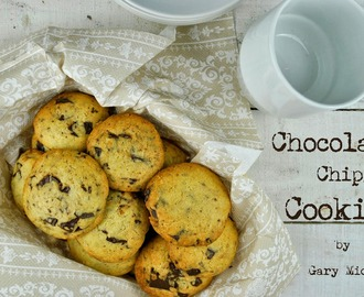 Chocolate chip cookies, ciasteczka pieguski