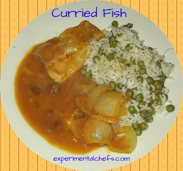 Curried Fish with Rice