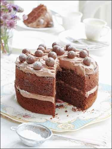 Recipe: Malted chocolate cake by Mary Berry