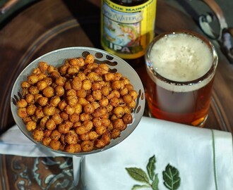 Crispy-Roasted Spicy Chickpeas (Garbanzo Beans)