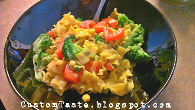 Rich and Healthy Warm Pasta Salad