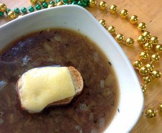 Irish Onion Soup for St. Patrick's Day