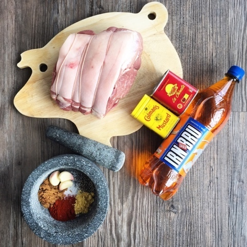 Love Pork - Slow Cooker Irn Bru Pulled Pork