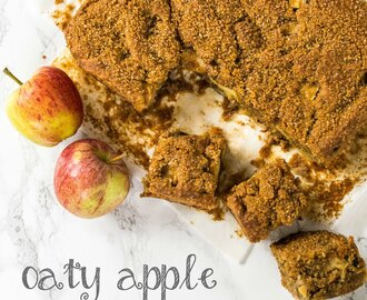 Recipe: Oaty Apple Traybake (Vegan)
