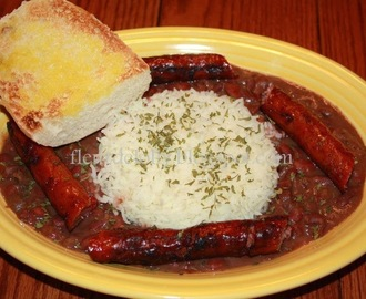 Red Beans & Rice with Conecuh Sausage
