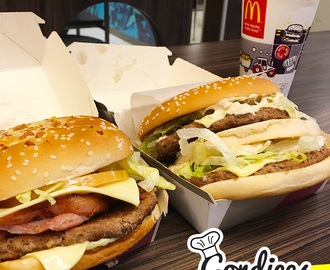 Grand Big Tasty e Big Tasty Bacon – Novidades do Mc Donalds