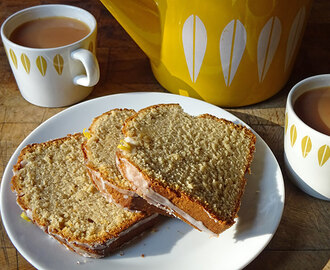 Cakes & Bakes: Earl Grey tea and lemon cake