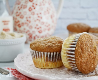 Snickerdoodle Muffins with Whipped Cinnamon Butter
