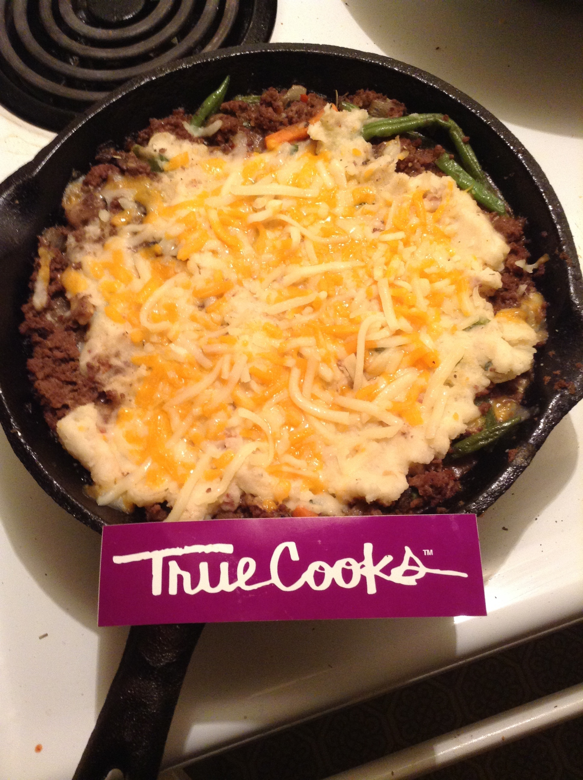 Elk Shepherd's Pie Cast Iron Skillet
