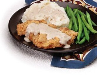 Chicken-Fried Steak with Sausage Gravy