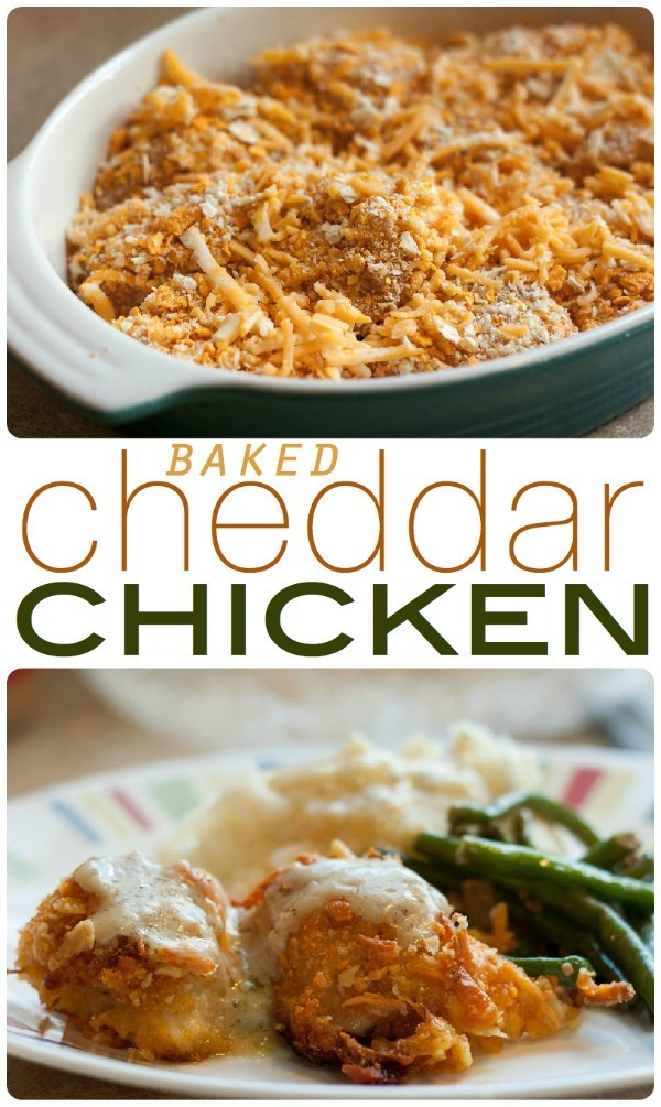 Baked Cheddar Chicken