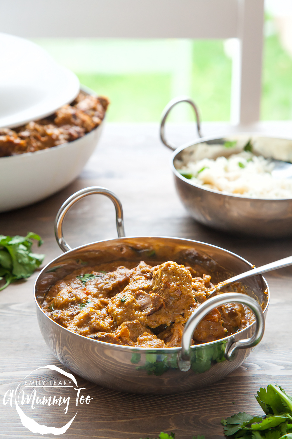 Slow cooked, one-pot, melt-in-the-mouth lamb korma
