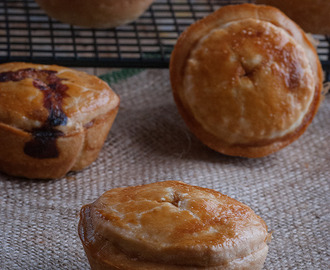 Mini pork pies { Pastelitos de carne }