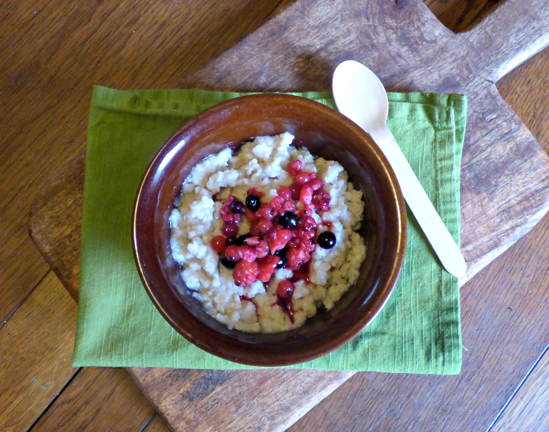 Low Syn Slow Cooker Brown Rice Pudding