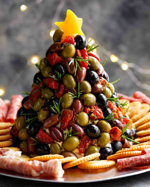 Antipasto  Christmas Tree