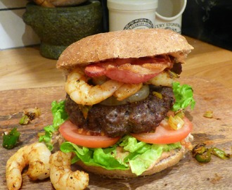 Slimming World Burger – The Surf and Turf