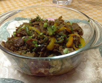 Beef Chilly Fry
