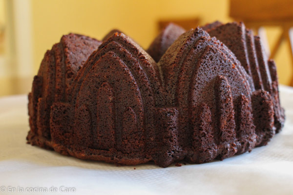 #BundtBaker. Double Chocolate Sour Cream Bundt Cake
