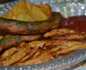 Onion & Potato fritters (Pakoray)