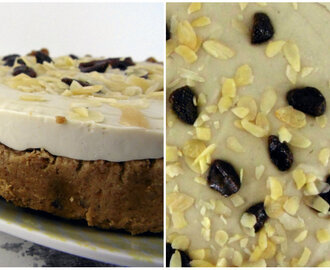 Cherry Almond 'Bakewell' Cheesecake – Raw and Oil Free