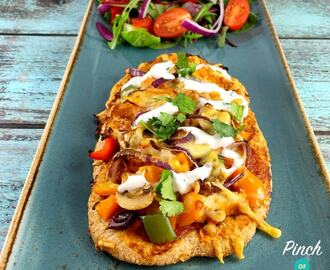 Syn Free Chicken Tandoori Pizza | Slimming World
