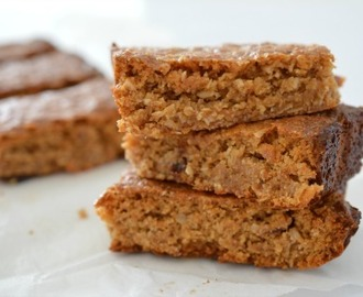 Homemade Peanut Butter and Honey Muesli Bars