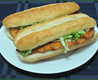 HAMBURGUESA ESTILO LONG CHICKEN ®