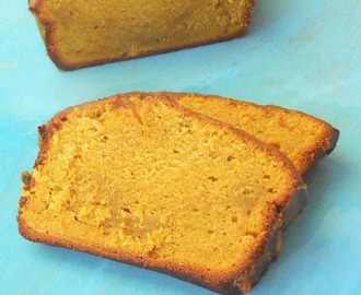 Yeast Free Ginger Pumpkin Bread with Pumpkin Icing | Eggless Mini and Egg based regular loafs