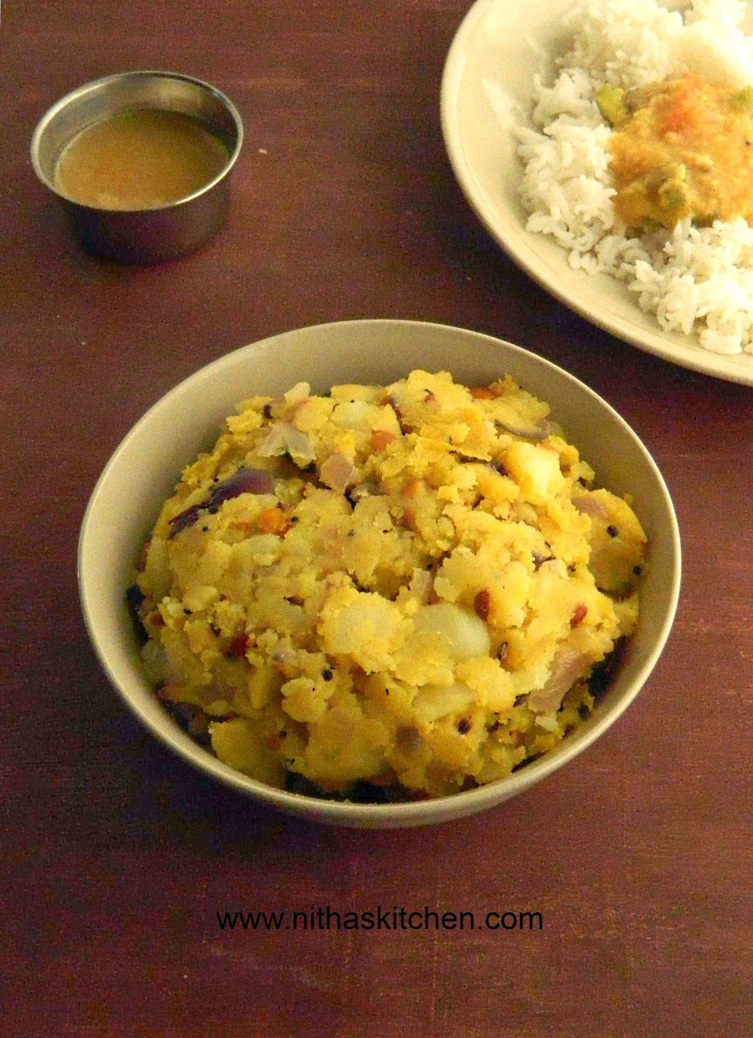 Potato Podimas | Urulaikilangu Poriyal | Potato Stir Fry
