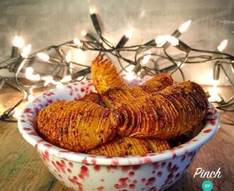 Chipotle Hasselback Potatoes