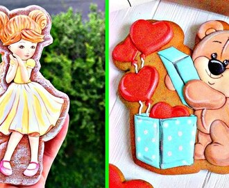 Galletas Decoradas | Top 5 Como hacer Galletas de Chocolate #45 | Biscuit Recipes 2018